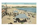 Beach at Newport  Rhode Island