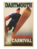 Skier  Dartmouth Winter Carnival