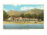 Biltmore Hotel  Santa Barbara  California
