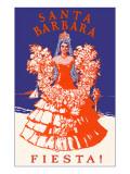 Poster for Fiesta Days  Santa Barbara  California