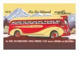 Bus Line  Chicago to California