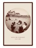 Children on Beach  Hotel del Coronado  San Diego  California