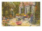 Pirate House Garden  Charleston  South Carolina