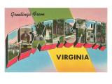 Greetings from Lexington  Virginia