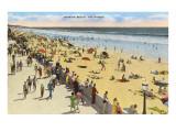 Mission Beach  San Diego  California