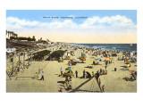 Beach at Oceanside  California
