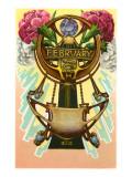 Art Nouveau February  Pisces