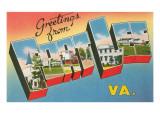 Greetings from Fort Lee  Virginia