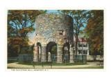 Ancient Viking Tower  Newport  Rhode Island