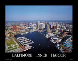 Baltimore, Maryland Reproduction d'art par Mike Smith