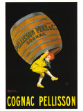 Cognac Pellison Reproduction d'art par Leonetto Cappiello