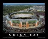 Green Bay Packers: terrain New Lambeau Reproduction d'art