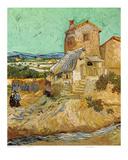 Vieux moulin Reproduction d'art par Vincent Van Gogh