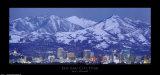 Salt Lake City, Utah Reproduction d'art par Jerry Driendl