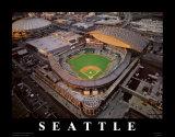 Safeco Park - Seattle, Washington Reproduction d'art par Mike Smith