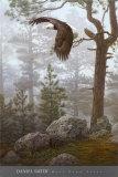 Forêt enveloppante (détail) Reproduction d'art par Daniel Smith