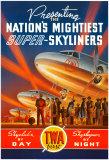 Super Skyliners Reproduction d'art par Kerne Erickson