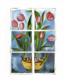 Tulips at the Window