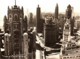 View to Grand Avenue  Chicago  1930