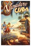 Varadero, Cuba Reproduction d'art par Kerne Erickson