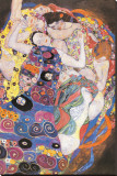 The Virgins Tableau sur toile par Gustav Klimt