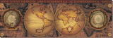Orbis Geographica II Tableau sur toile