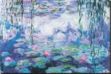 Nymphéas Tableau sur toile par Claude Monet