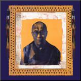His Holiness the Dalai Lama I Reproduction montée par Hedy Klineman