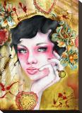 Belladone Tableau sur toile par Cambria