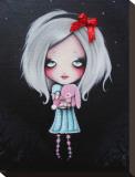 Pretty Bunny Tableau sur toile par Candy Cane