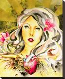 Beautiful Disaster Tableau sur toile par Cambria