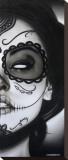 Sophia La Muerta Tableau sur toile par Daniel Esparza
