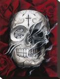 Rosa Muerte Tableau sur toile par Carlos Torres