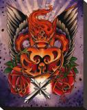 Sacred Heart Tableau sur toile par 2 Cents