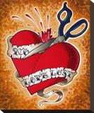 No Love Lost Tableau sur toile par Brittany Morgan