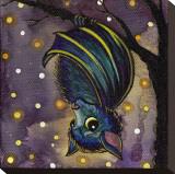 Bat Tableau sur toile par Brittany Morgan