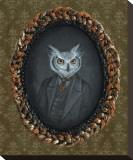Wallace Hindersmith (le hibou) Tableau sur toile par Larkin