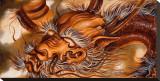 Dragon Tableau sur toile par Manuel Valenzuela