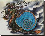 Dragon Snail Tableau sur toile par Salvador Preciado