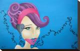 Azure Tableau sur toile par Elaina Soto