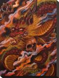 Dragons Descent Tableau sur toile par Manuel Valenzuela
