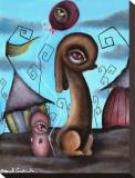 Au cirque Tableau sur toile par Abril Andrade