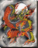 Kali Dragon Tableau sur toile par Kali (Artist)