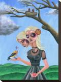 Bird Brain Tableau sur toile par Tony Carey