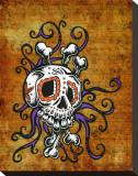 Sugar Skull Song Tableau sur toile par David Lozeau