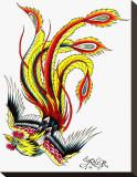 Phoenix Tableau sur toile par Rick Walters