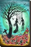 Love til Death Tableau sur toile par Tyler Bredeweg