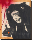 Rage Stick Tableau sur toile par Fabian