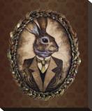 Handsome Jack (le lapin) Tableau sur toile par Larkin