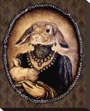 Leibchen und Unicorn (la lapine et la licorne) Tableau sur toile par Larkin